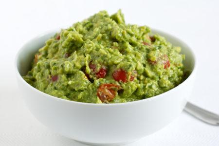 Guacamole, delicious Mexican avocado dip